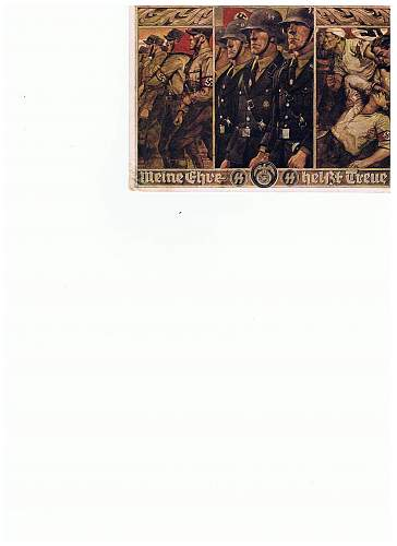 "Opinions Sought On SS-Postcard ""SS Bildkarte Nr.1"""