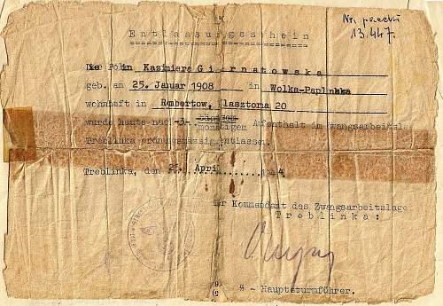 Treblinka document???