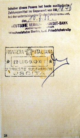 hand-written in German