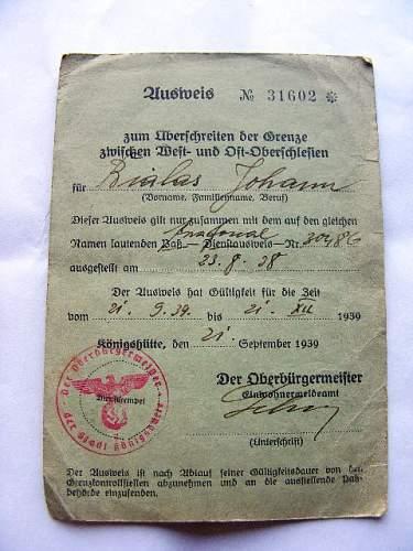 pass for Silesia?