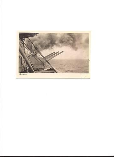 New Kreigsmarine Feildpost postcards--Very Cool