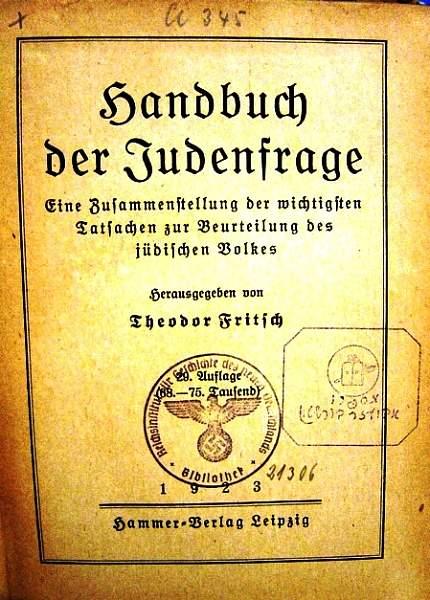 Click image for larger version.  Name:Handbuch der Jusenfrage 1923.jpg Views:87 Size:51.4 KB ID:22032