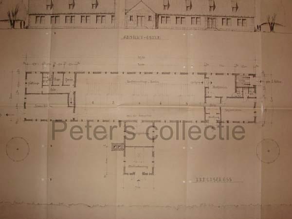 KL Auschwitz crematorium blueprints