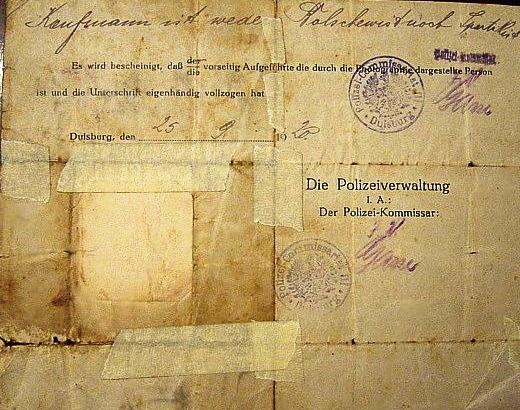 German hand writing