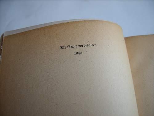 German WW2 Era Books, Significance?