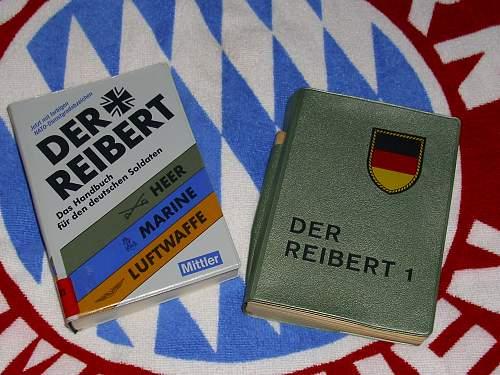 instruction book (reibert) for infantry heer