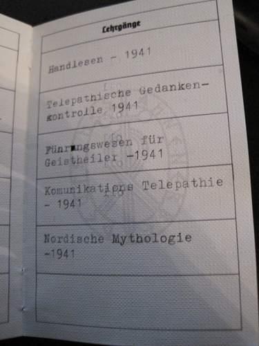 Ahnenerbe ID
