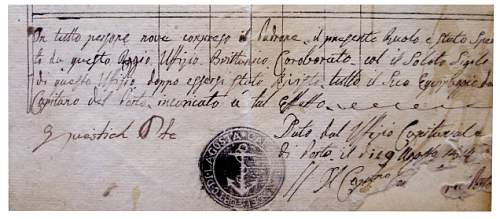 some help with Italian hand writing please