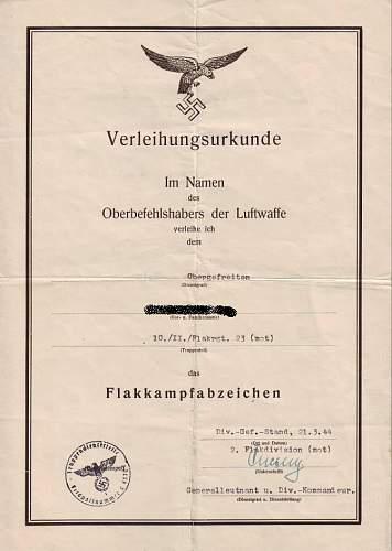 L/W Flak group