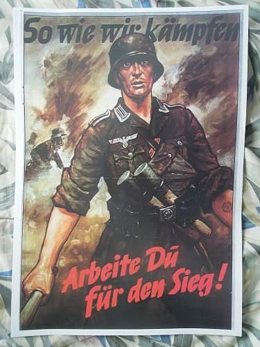 My Recruitment/Propaganda posters (repros alas)