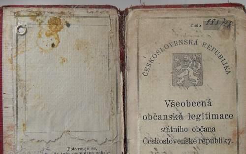 KZ Auschwitz/Buchenwald/Mittelbau-Dora prisoners ID