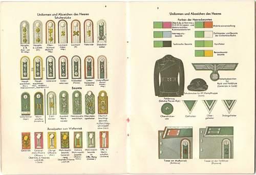 Deutsche  Uniformen Booklet