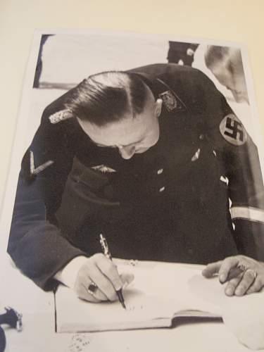 Heinrich Himmler Signature