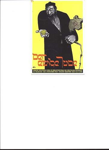 Anti Semetic posters