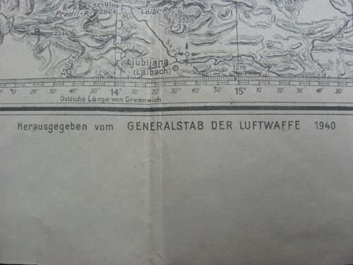 Luft Navigation map
