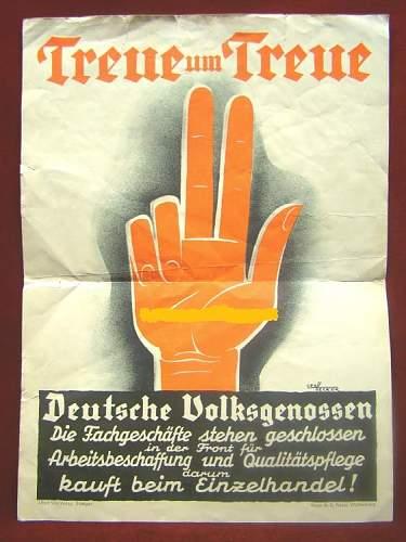 Propaganda Plakat