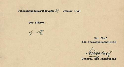Is this hitler signature any good?