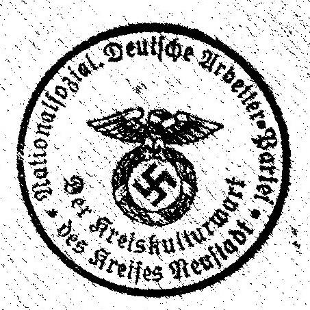 """Neustadt """"Das Buch der N.S.D.A.P."""""""