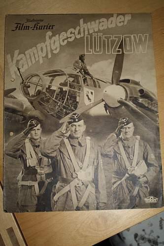 German propaganda film programmes