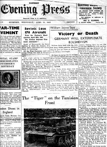 German propaganda: Channel islands newspapers under occupation