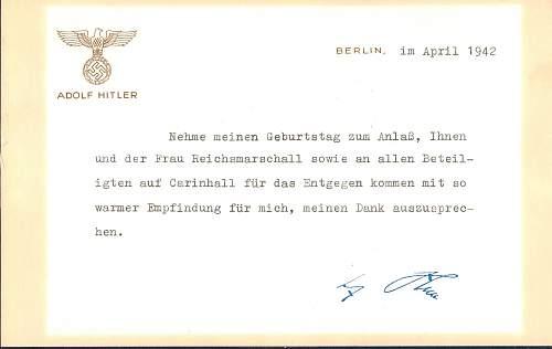 Hitler's Signature?