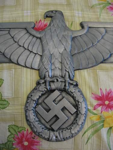Large Reichsbahn 'Railway' Eagle