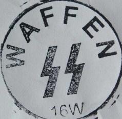waffen ss feldpost stamp