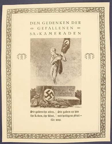 Click image for larger version.  Name:Dem Gedenken der Gefallen SA Kameraden.jpg Views:29 Size:56.9 KB ID:317354