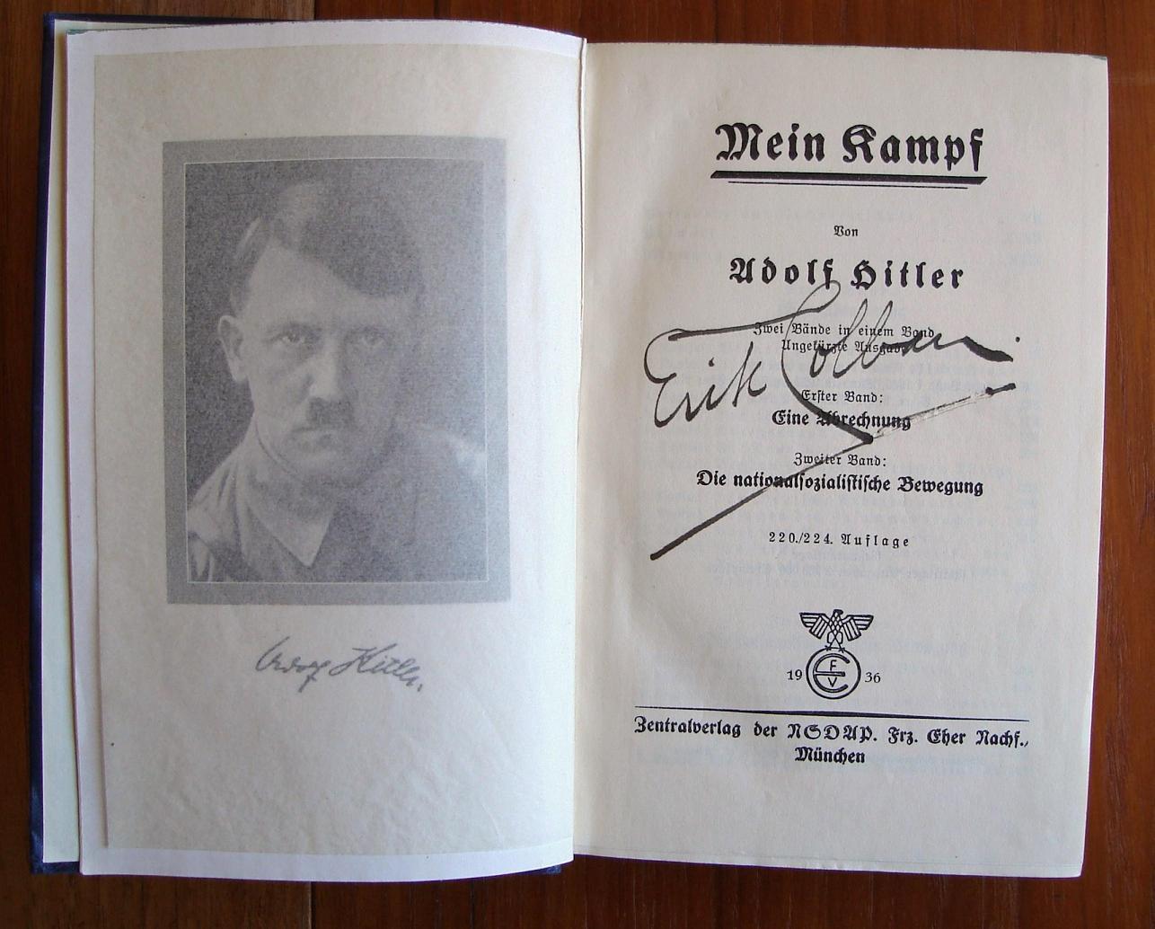 Mein Kampf Suomeksi