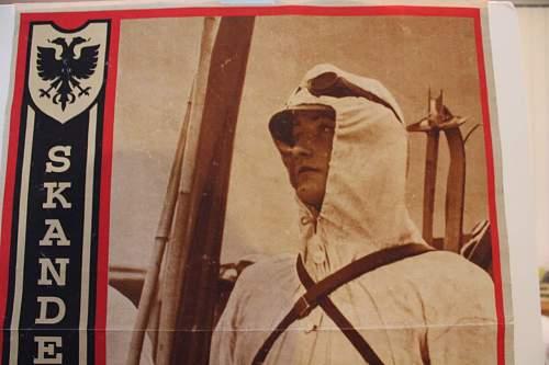 SS Skanderberg recruitment poster....... original?