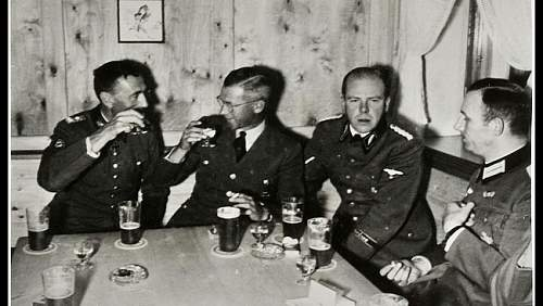 Nazi drinking party in Norway