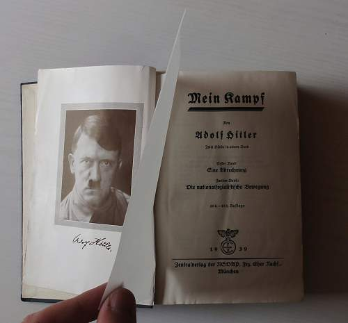 Mein Kampf 1939 edition
