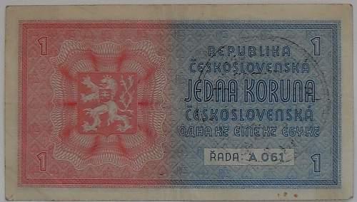 Protektorat banknote