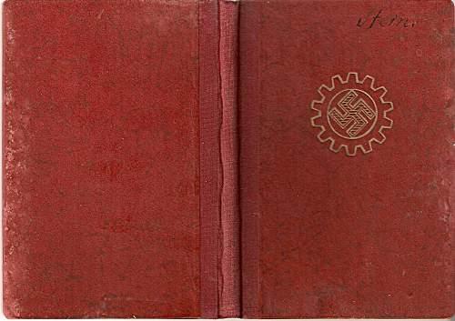 DAF Mitgliedsbuch