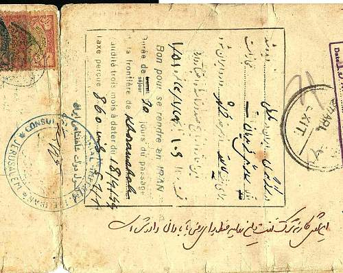 looking for some help - PERSIAN - 1944 pass