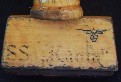 Waffen-ss ink stamp