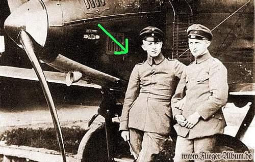 Flighter pilot Leutnant Max Leppin,from WK I to WKII