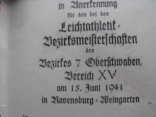 German award?