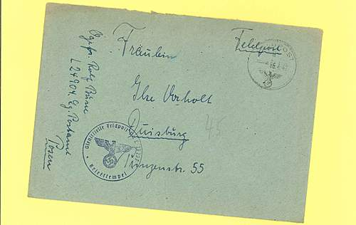 1942 Feldpost with a photo!