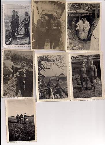 Eastern front infantry album picutres - lots of interesting stuff