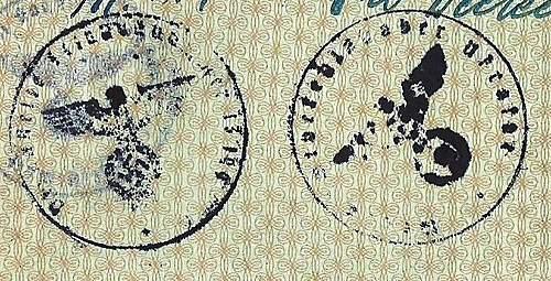 Click image for larger version.  Name:'Dienstelle feldpostnummer 13199' & 'Wehrmacht Befehlshaber Ukraine'.jpg Views:166 Size:68.6 KB ID:379058