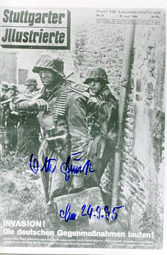 Help with this Otto Funk signed photo