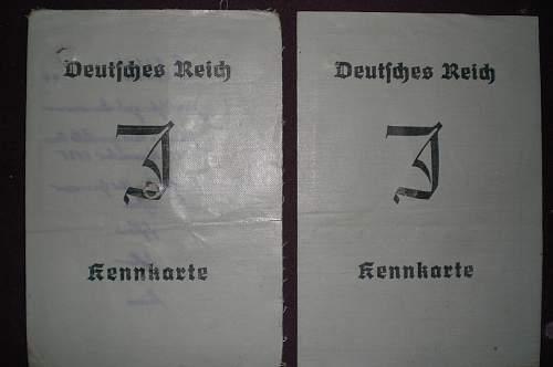 Two interesting Kennkarte