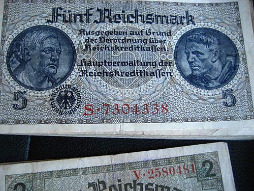 3 Reich Reichmarks-value??