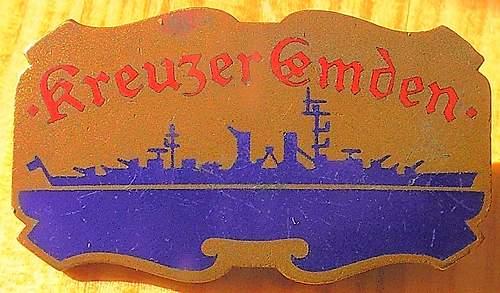 Kreuzer Emden Crewmember Photo