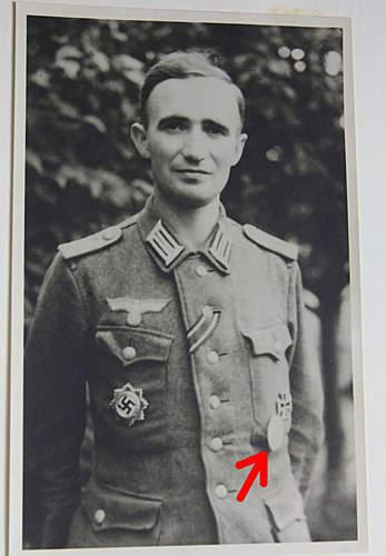 Please identify badge