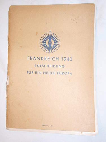 Click image for larger version.  Name:Frankreich 1940. Entscheidung für ein neues Europa front.jpg Views:73 Size:216.6 KB ID:396090