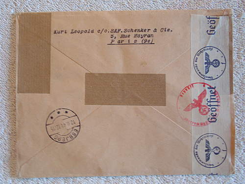 Click image for larger version.  Name:Cover From Paris to Esbjerg In denmark date 7.6.1941 back.jpg Views:293 Size:207.9 KB ID:396576