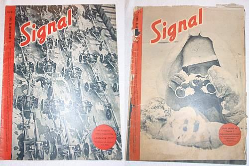 Click image for larger version.  Name:Signal Danish 1-2 Januar hæfte- 1-2 January Magazine 1943.jpg Views:357 Size:230.5 KB ID:396984
