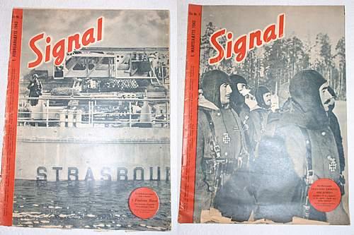 Just some nice Danish Signal Magazines